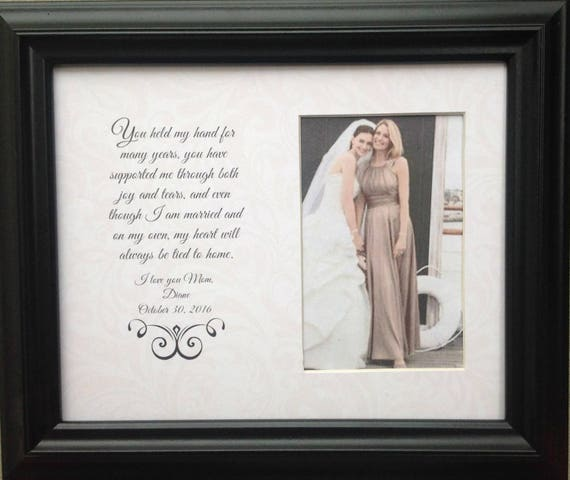 Mother of the Bride Parent Wedding Personalized Custom Gift