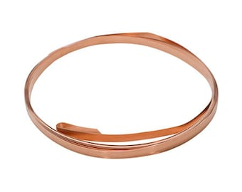 COPPER BEZEL WIRE 10 Feet