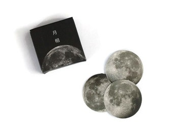 Moon sticker set ~ 45 pieces ~ Moon phases ~ Full Moon ~