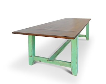 Table, Dining Table, Reclaimed Wood, Farmhouse Table, Rustic, Shabby Chic