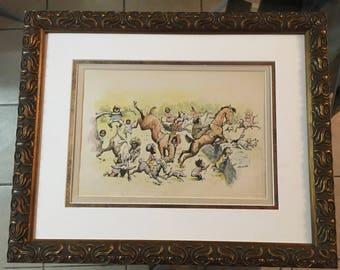 Rare Edward Kemble Print