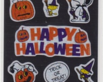 Snoopy Stickers - Halloween Stickers - Reference A4731-33