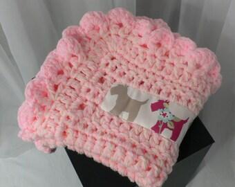 Pink Dog Blanket Lap Blanket Pet Blanket Pet Bedding Pink Cat Blanket Crochet Cat Bed Lapghan Crochet Throw Dog Mat Cat Mat Crate Bedding