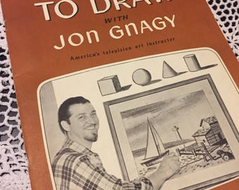 1950's Learn to Draw with Jon Gnagy