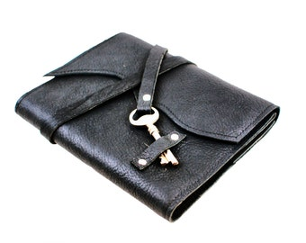 3rd Wedding Anniversary Leather Journal, Leather Anniversary Gift, Gifts for Guys, Leather Notebook - IN STOCK