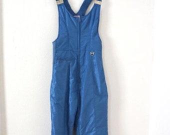 Vintage Ski Pants Blue Women Sz S