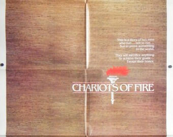 Chariots Of Fire - 1981 - Original US one sheet movie poster