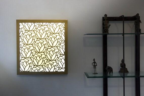 Wood wall art wall light wall decor wall lamp sconce aloadofball Gallery