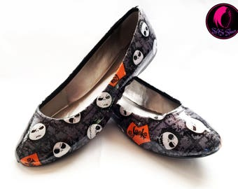 Jack Skellington Nightmare Before Christmas Shoes