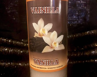 Vanilla scent 7 day candle