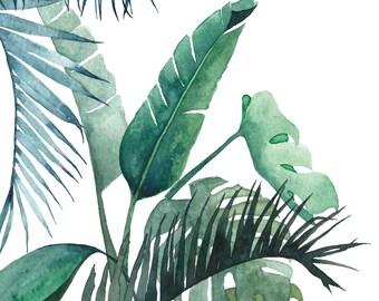 A5 Art Print / Postcard, Botanical #01, Illustration, Watercolor