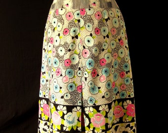 Vintage 1940s Hippie Boho Skirt