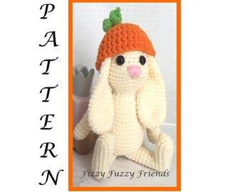 Amigurumi pattern, crochet pattern, bunny pattern, Easter, toys, crochet bunny, crochet toys, amigurumi bunny, gift for kids