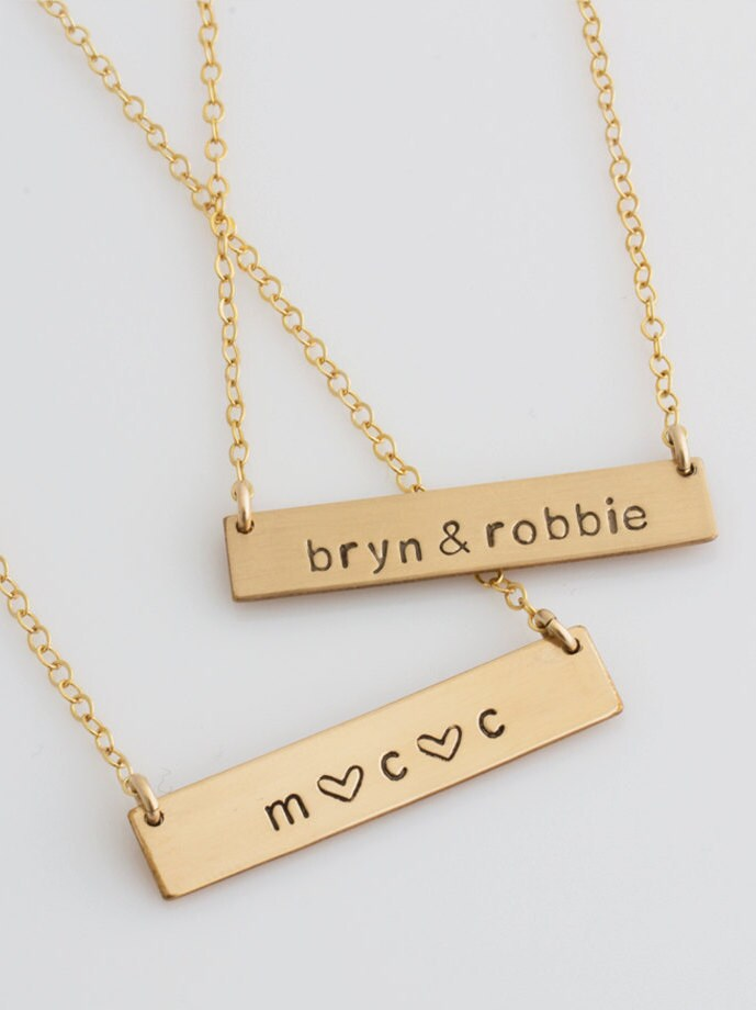 lumber customnecklace necklace engraved tiny wooden product home custom necklaces bar