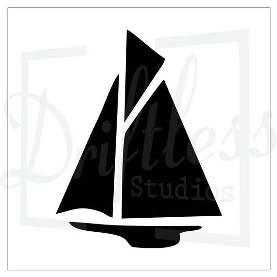 Sail Boat Stencil Sailboat Stencil Sail Boat Template