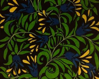 Folk art, dessin de fleurs, originale, dessiné à la main