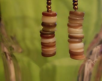 BoHo Dangle Earrings Earth tones