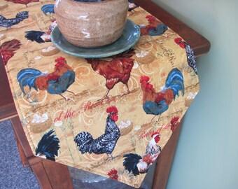 Rooster Table Runner | Etsy