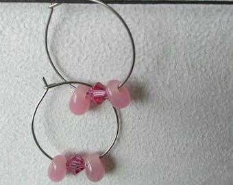 """""""Nebula Butterfly 2"""" hoop"""