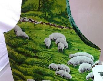 Walking Project bag, On the go Sheep bag, Sheeps on the go bag,