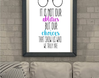 Harry Potter Quote Print