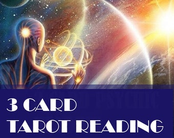 3 Card Psychic Reading