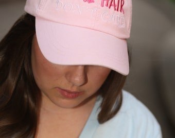 Lake Hair Don't Care Cap - Southern Prep - Comfort Colors Hat - Dad Cap