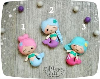 Cute mermaid ornaments Mermaid nursery decorations Marmaid Baby girl nursery ornaments Mermaid baby room decor Mermaid baby shower
