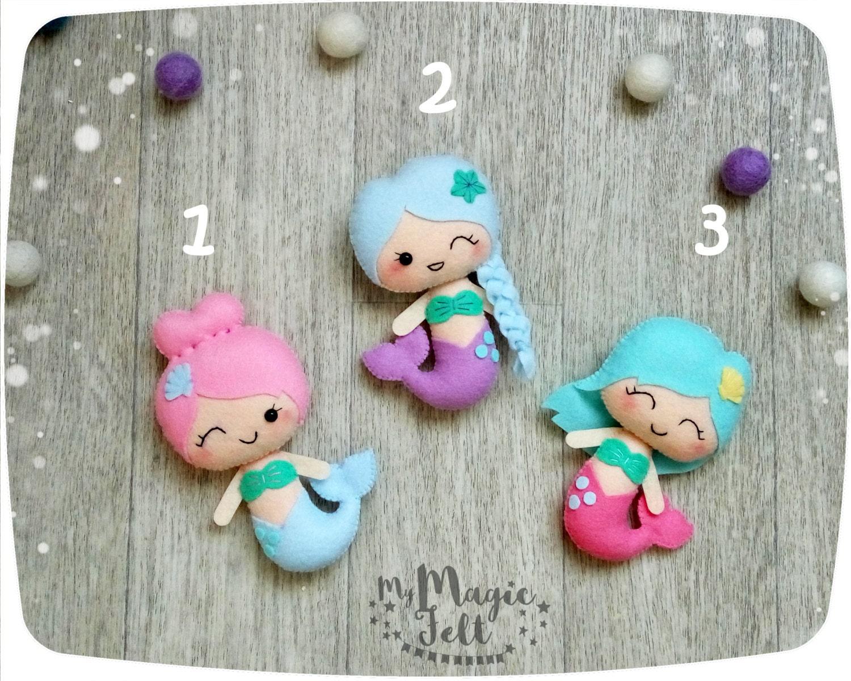 Süße Meerjungfrau Ornamente Meerjungfrau Kinderzimmer
