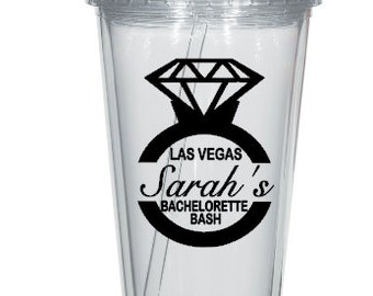 Bachelorette Party Tumbler Cup Decals, Bachelorette Bash Stickers, Cups NOT Included.