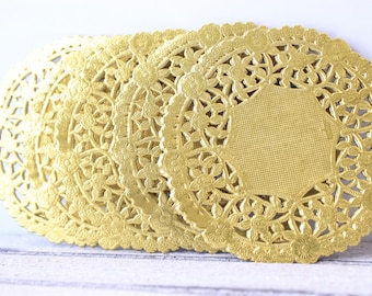 Gold Doilies, Gold Paper Doilies, Wedding Doilies, Christmas Table Decor, Gold Christmas, Christmas Decor, Gold Paper Doilies, Gold Wedding