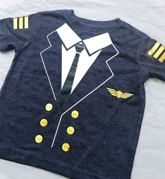 Pilot T-Shirt Short sleeve - Toddler, Costume, Halloowen, Dress up