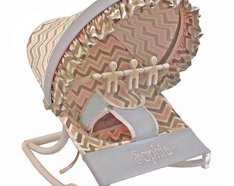 Our Chevron Pink Baby Rocker provides a convenient, comfortable resting place wherever you take your baby. And year-around protection!
