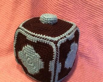 Meeseeks Box (Rick &Morty Inspired) Crochet Plush Doll