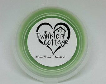 Elderflower Cordial Scented Soy Wax / Tart Melt Tub - Twinkle Cottage