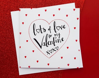 Romantic Quote Valentine's Card   Valentine's Day Card, Girlfriend Valentines. Boyfriend Valentines, Wife Valentines, Husband Valentines
