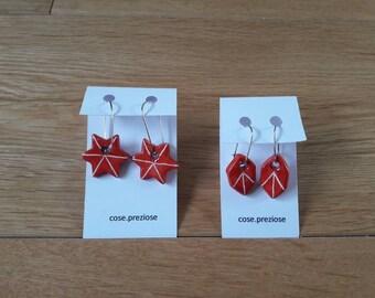 Christmas Ceramic Earrings