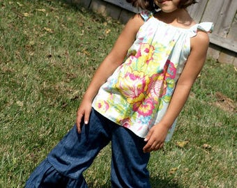 Toddler Ruffle Jeans