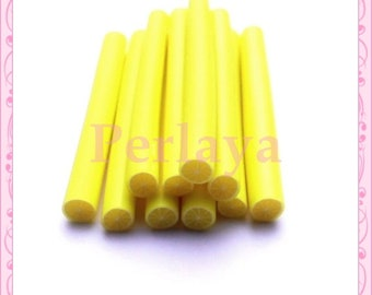 Set of 10 lemon REF388 fimo canes