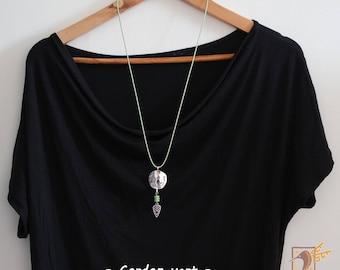 "Necklace ""Cherokee"" Green"""