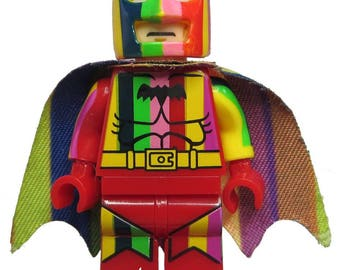 Rainbow Batman - LEGO Compatible