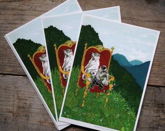 Marmot Royalty Postcard