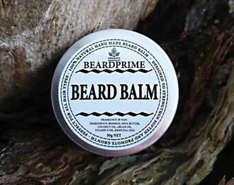 Beard Balm All Natural 50 grams / 50 mL. Beard Balm. Balm Beard. Beard Conditioner. Beard Balm gift for him