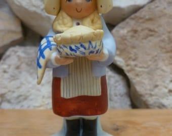 VTG 1984 Enesco Country Fair Jenny figurine Christina Mae Risley
