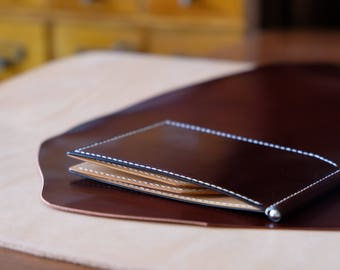 Japanese Shell Cordovan - Money Clip Wallet 01