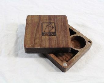 Zucati Dice Base™: Quarter Core - Black Walnut