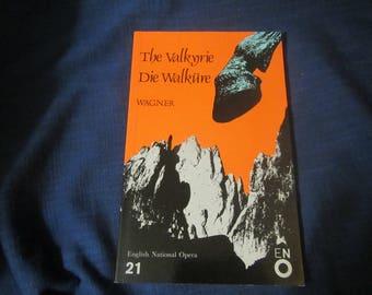 1983 ** The Valknrie Die Walkure ** Richard Wagner **sj