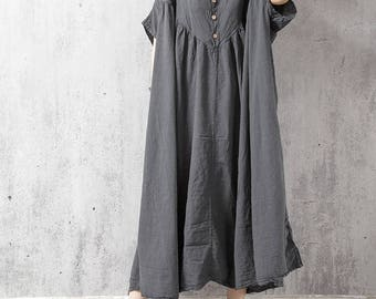 Oversized Loose Fitting Long Maxi Dress, Gown, Oversized Dress, Dress