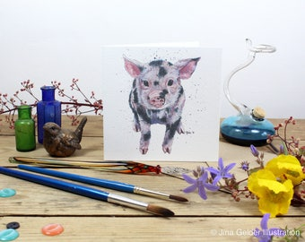 Greetings Card 'Squiggles'