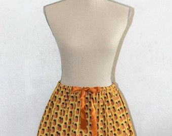 Vintage pineapple skirt